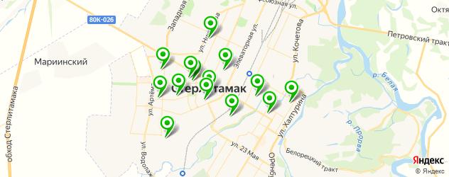 спортивные секции на карте Стерлитамака