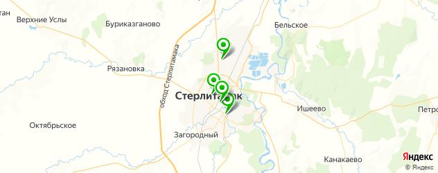 свадебные агентства на карте Стерлитамака