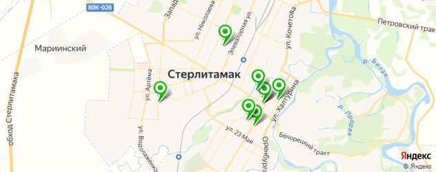 академии на карте Стерлитамака