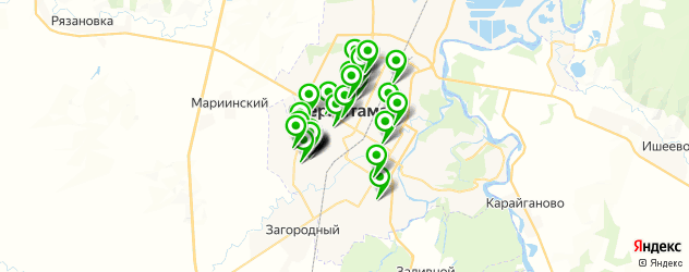 Здоровье на карте Стерлитамака