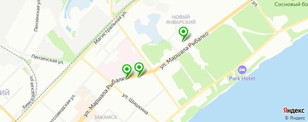 лаборатории анализов на карте Закамска