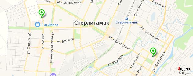 кофейни на карте Стерлитамака