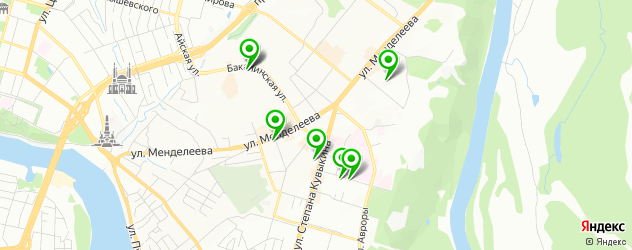 лаборатории анализов на карте Зеленой Рощи