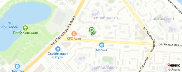анализ ХГЧ на карте Сипайлово