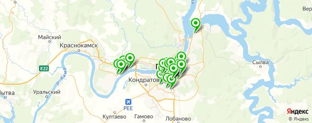 женские фитнес-клубы на карте Перми