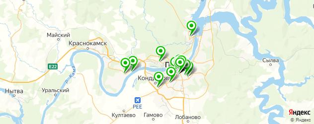 японские рестораны на карте Перми