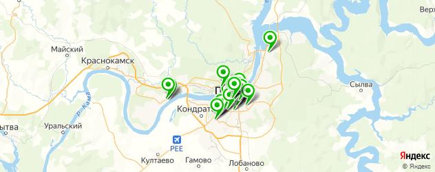 постные меню в ресторанах на карте Перми