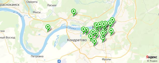медицинские центры на карте Перми