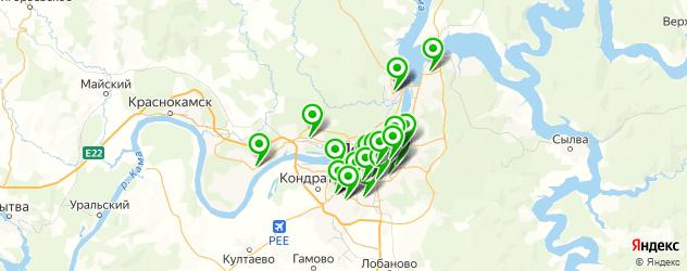 обувные мастерские на карте Перми