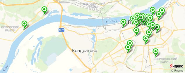 школы танцев на карте Перми