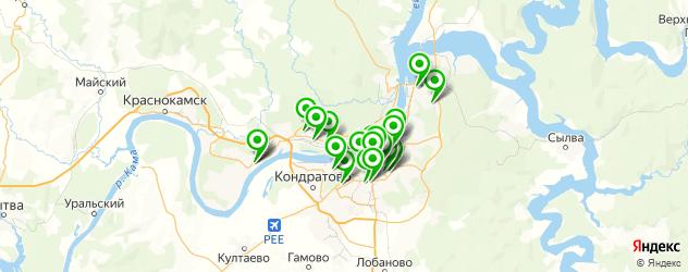 компьютерные помощи на карте Перми
