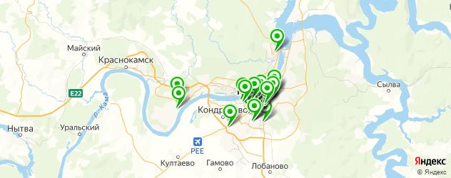 ламинирование документов на карте Перми