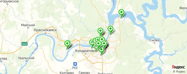 НИИ на карте Перми