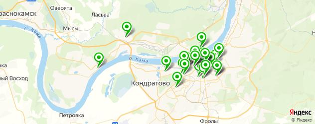 агентства праздников на карте Перми
