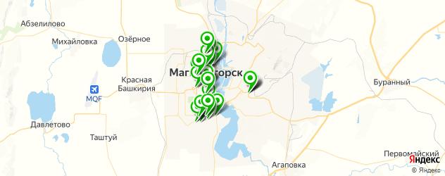 дома быта на карте Магнитогорска