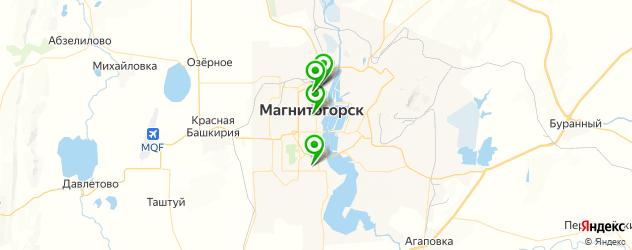 театры на карте Магнитогорска