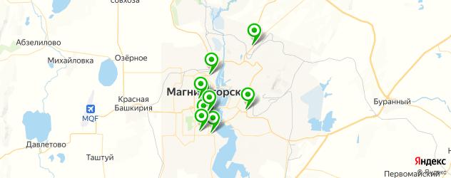 художественные школы на карте Магнитогорска