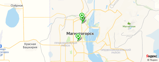 центры эстетической медицины на карте Магнитогорска
