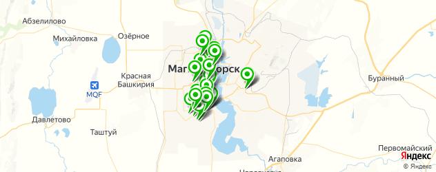 меховые ателье на карте Магнитогорска