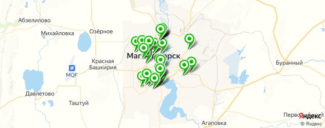 тюнинги ателье на карте Магнитогорска
