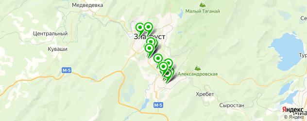 рестораны на карте Златоуста