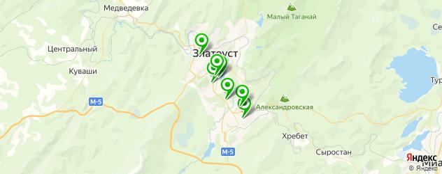 рестораны с живой музыкой на карте Златоуста