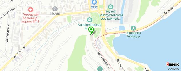 театры на карте Златоуста