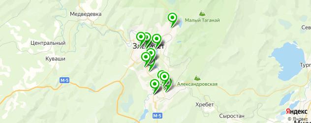 автошколы на карте Златоуста