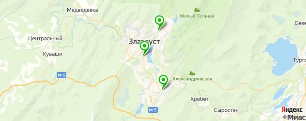 институты на карте Златоуста