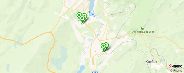 установка ГБО на карте Златоуста