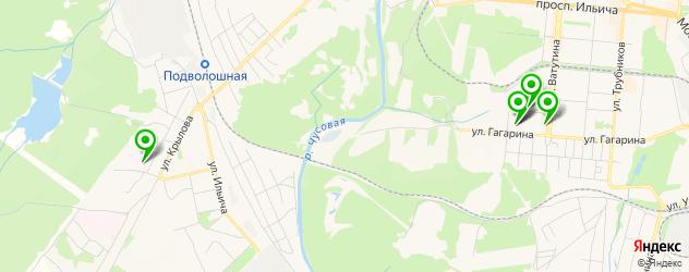 детские больницы на карте Первоуральска