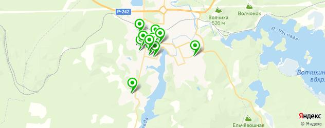 школы на карте Ревды