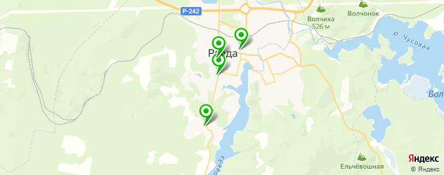 центры раннего развития на карте Ревды