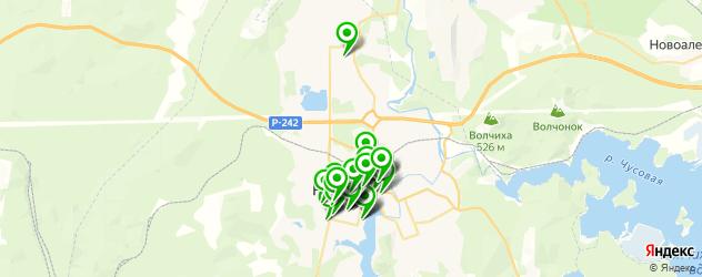 банкоматы на карте Ревды
