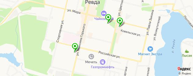 меховые ателье на карте Ревды