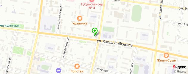 мотосалоны на карте Ревды