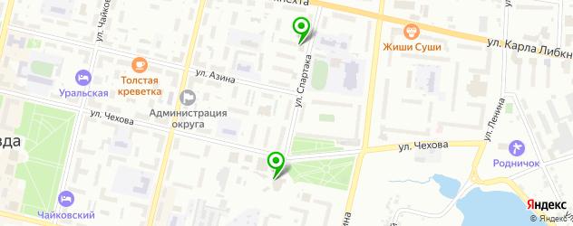 суши-бары на карте Ревды