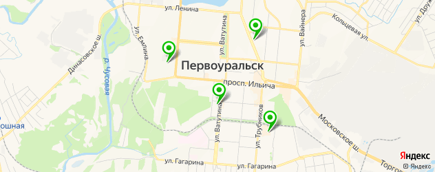 дома быта на карте Первоуральска