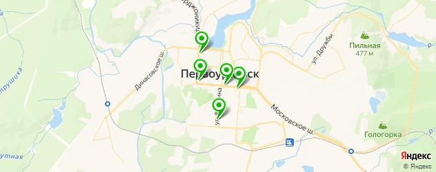 меховые ателье на карте Первоуральска