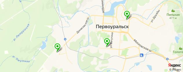 детские поликлиники на карте Первоуральска
