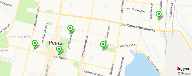 бары на карте Ревды