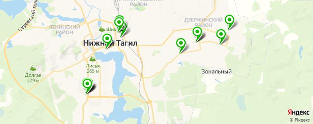 магазины автозвука на карте Нижнего Тагила