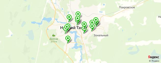 авторазборки на карте Нижнего Тагила