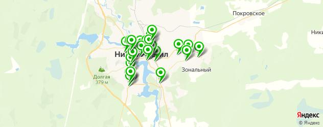 магазины запчастей на карте Нижнего Тагила