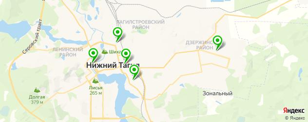 караоке-клубы на карте Нижнего Тагила