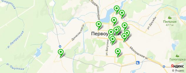 Доставка пиццы на карте Первоуральска
