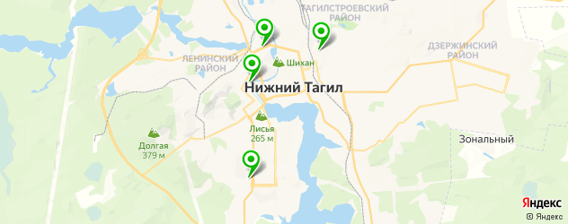 Ремонт электрики Форд на карте Нижнего Тагила
