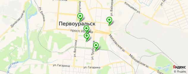 Доставка тортов на карте Первоуральска