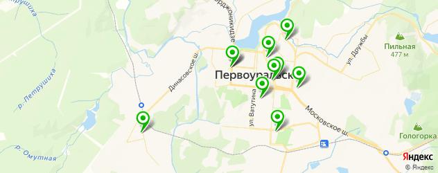 Доставка десертов на карте Первоуральска