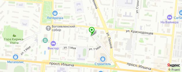 экскурсии на карте Первоуральска